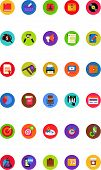 Flat Business Icons - Web Icons Set