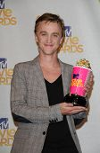 Tom Felton at the 2010 MTV Movie Awards - Press Room, Gibson Amphitheatre, Universal City, CA. 06-06-10