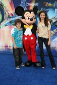 Nolan Gould and Sarah Hyland at the World Premiere of 'World Of Color,' Disney's California Adventure, Amaheim, CA. 06-10-10