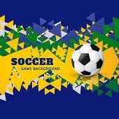 soccer design vector illustration