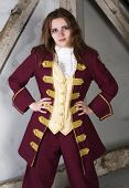 Girl Dressed As A Prince