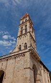 Belfry (xvi C.) Of Saint Lawrence Cathedral. Trogir, Croatia (unesco Site)