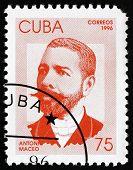 Postage Stamp Cuba 1996 Antonio Maceo, Revolutionary