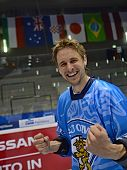 Ossi Pellinen after Inline hockey World Championship finals