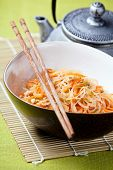Asian Salad With Cellophane Noodles And Vegetables