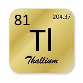 Thallium element