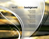 eps10 vector realistic blurred image of sunrise background