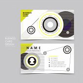 Vector Business Card Set With Design Sense