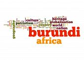 foto of burundi  - Burundi word image with hi - JPG
