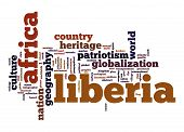 Liberia Word Cloud