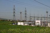 high-voltage station