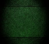 Old green leather texture background