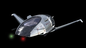 pic of battleship  - Drone design of alien spacecraft for science fiction backgrounds - JPG