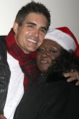 LOS ANGELES - NOV 30:  Galen Gering, Aloma Wright at the 2014 Hollywood Christmas Parade at the Hollywood Boulevard on November 30, 2014 in Los Angeles, CA