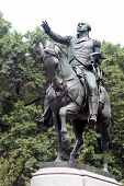 Equestrian Statue Of General George Washington, In The South Side Of Union Square