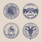 Goat badges
