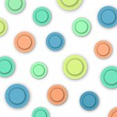 Colorful Circles, abstract background, vector eps10 illustration
