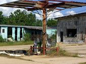 New Orleans Katrina Gas Station Remains