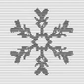 Snowflake, Optical Illusion