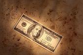 Grunge Dollar Background