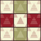 Christmas Vector Seamless Patterns