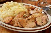 Turkey And Mashed Potatoes