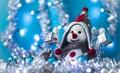 Snowman  Brought Christmas Gifts