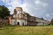 Ruins Of Ancient Russian Monastery In Totma