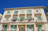 Majestic Palace in Giovinazzo Oldtown. Apulia.