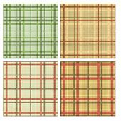 Seamless tiling plaid textures