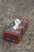 pic of tissue box  - Tissue box Elephant is the symbol of Thailand - JPG