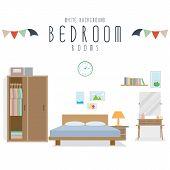 Bedroom (White Background)