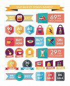 Kitchen Sale Banner Design Flat Background,eps10