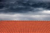 Постер, плакат: Roofs For Protection Against Rain