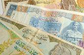 Syrian pound background