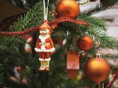 Christmas Tree Decoration With Ornament