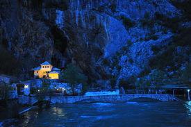 picture of sufi  - Sufi monastery in Blagaj - JPG