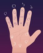 stock photo of analogy  - Palmistry  - JPG