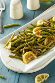 pic of sauteed  - Homemade Sauteed Green Beans with Lemon and Garlic - JPG