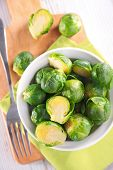 pic of brussels sprouts  - brussel sprouts - JPG