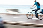 stock photo of dirt-bike  - Great way to get around in a city  - JPG