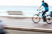 foto of dirt-bike  - Great way to get around in a city  - JPG