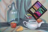 picture of pastel  - Artist - JPG