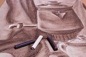 stock photo of pastel  - Artist - JPG