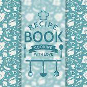 stock photo of recipe card  - Recipe book - JPG