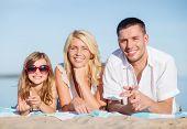 picture of children beach  - summer holidays - JPG
