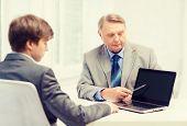 pic of older men  - business - JPG