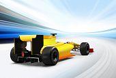 Постер, плакат: Формула один автомобиль