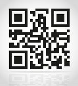 image of qr-code  - qr code vector illustration isolated on white background - JPG