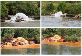 image of polluted  - Collection of Photos of Polluted River - JPG